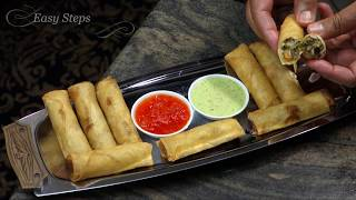 How to Fry Store Bought Lumpia | Egg Rolls Recipe