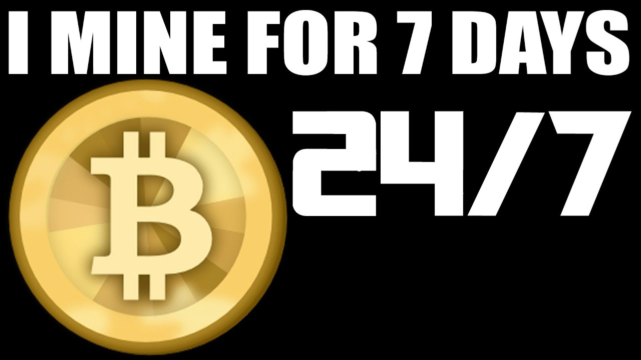 7 day 24hr bitcoin mining experiment see how much money i 7 day 24hr bitcoin mining experiment see how much money i made youtube ccuart