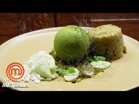 The Girls Replicate Reynold Poernomo's Moss Dessert - MasterChef Australia | MasterChef World