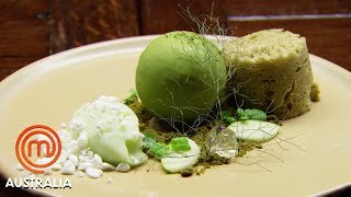 Reynold Poernomo's Moss Dessert Replication Challenge - MasterChef