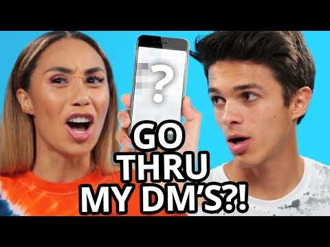 EXTREME WOULD YOU RATHER?  VS w Eva Gutowski and Brent Rivera
