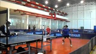 Repeat youtube video table tennis defence training