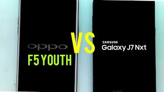 Oppo F5 youth VS Samsung Galaxy J7 NXT speed test comparison