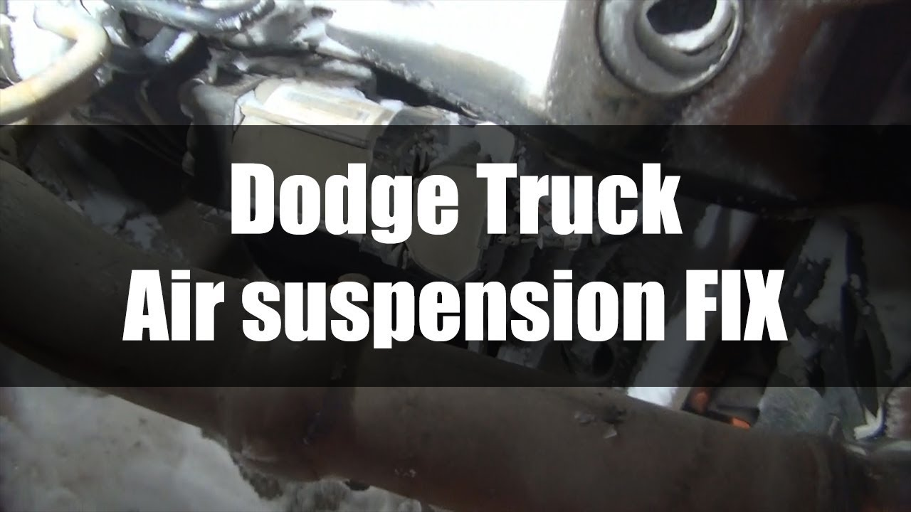 CURE Dodge Air suspension Compressor Stalled on
