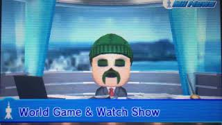 Tomodachi Life - Mii News - World Game & Watch Show