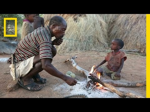 Hunt With the World's Last Full-Time Hunter-Gatherers | National Geographic
