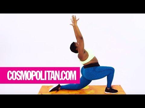 A Yoga Flow to Keep You Calm AF | Cosmopolitan