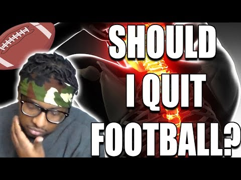 Dear Flemlo, I Have a Spine Injury! Should I Quit Football? Serious Sub Questions #mondaymotivation