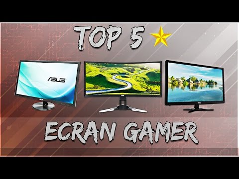 Top 5 Ecran Gamer 2017!
