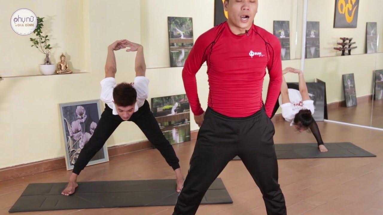Bài tập yoga giúp tăng chiều cao | Yoga tại nhà