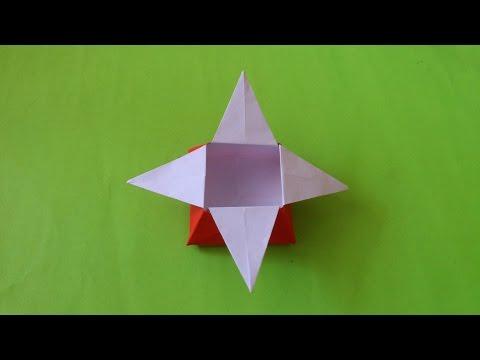 Cara Membuat Origami Box Bintang   Origami Box