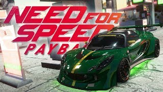 Lotus Exige S Tuning! - NEED FOR SPEED PAYBACK | Lets Play NFS