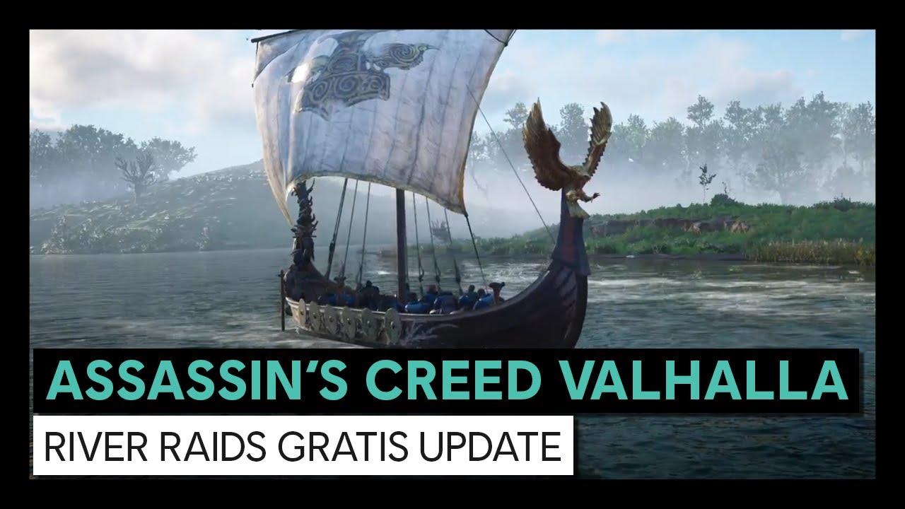 Assassin's Creed Valhalla: River Raids Gratis Update