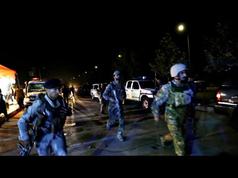 Militants attack American University in Kabul