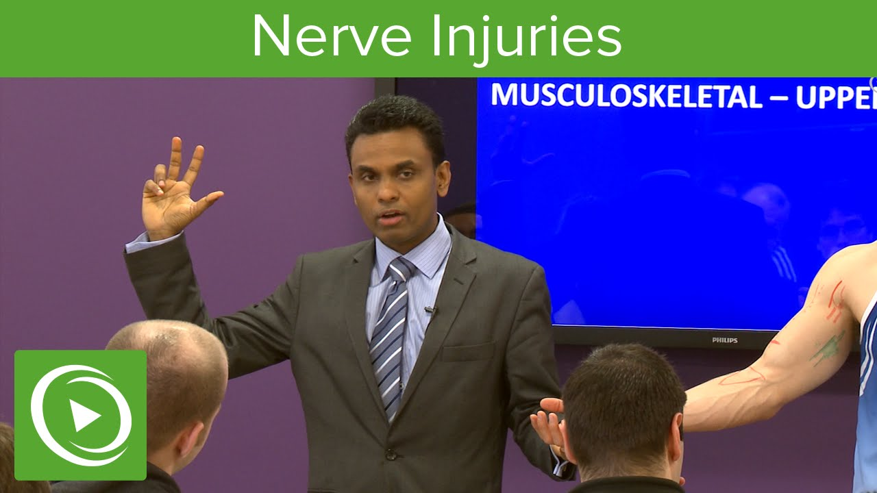 Nerve Injuries: Median Nerve – MRCS | Lecturio