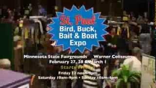 2015 St  Paul Bird, Buck, Bait, & Boat Expo