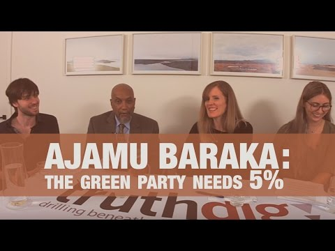 Ajamu Baraka: 5 Percent of the Vote Secures Ballot Access for Green Party