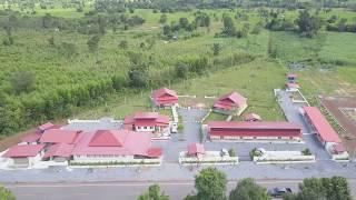 Leeya Resort Arial view from 150 feet in the Air