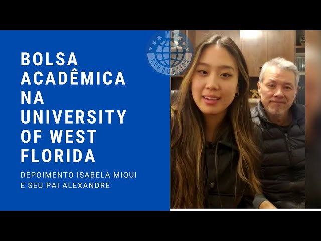 Bolsa Acadêmica na University of West Florida