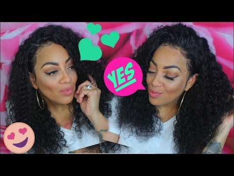 BOSS LACE WIG OUT THE BOX HOW I WEAR MY WIGS WITHOUT GLUE GEL or TAPE EVERYDAY EASY AF Bestlacewigs