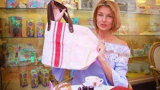 нужные покупки-мелочи в Италии. сидим в кафе (KatyaWORLD)