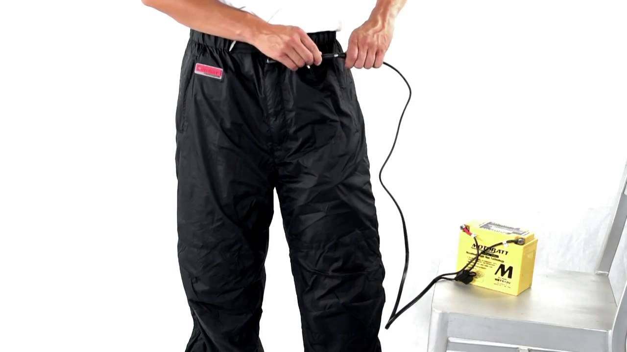 Venture Heat 12V Motorcycle Heated Pants Liner XS Full Length Heating Leg Warming Protective Gear