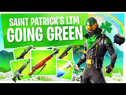 NEW Saint Patrick's Day LTM in Fortnite - Going Green Event High Kill Game
