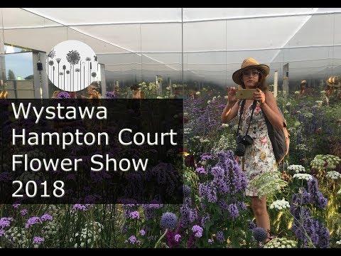Wystawa ogrodnicza Hampton Flower Show 2018. Relacja, zdjęcia ogrodów pokazowych