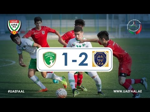 UAE FAAL - Emirates Club 1-2 T.F.A | Week 8 Highlights