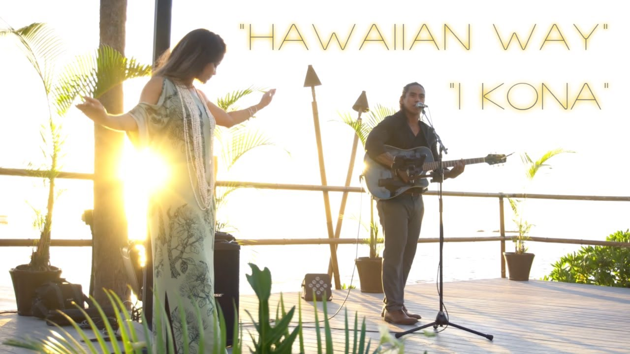 ROYAL KONA RESORT ~ Live Sunset Music with Hula Dancer ~ GIG VLOG#10