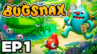 🍓 WHAT ARE BUGSNAX?! 👀 - Bugsnax Ep.1 (Gameplay / Let's Play)