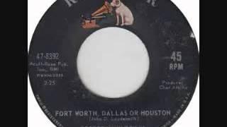 George Hamilton IV -  Fort Worth, Dallas Or Houston