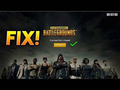 PUBG RJEŠENJE za connection closed