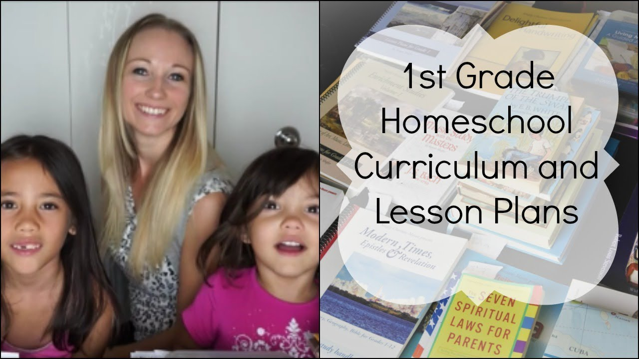 2017 1st Grade Homeschool Curriculum and Lesson Plans – 1St Grade Homeschool Lesson Plans