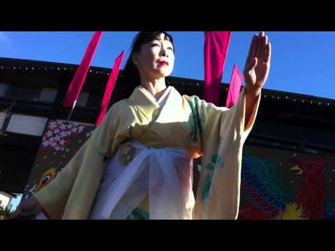 Japanese Classical Dance at Cherry Blossom Festival