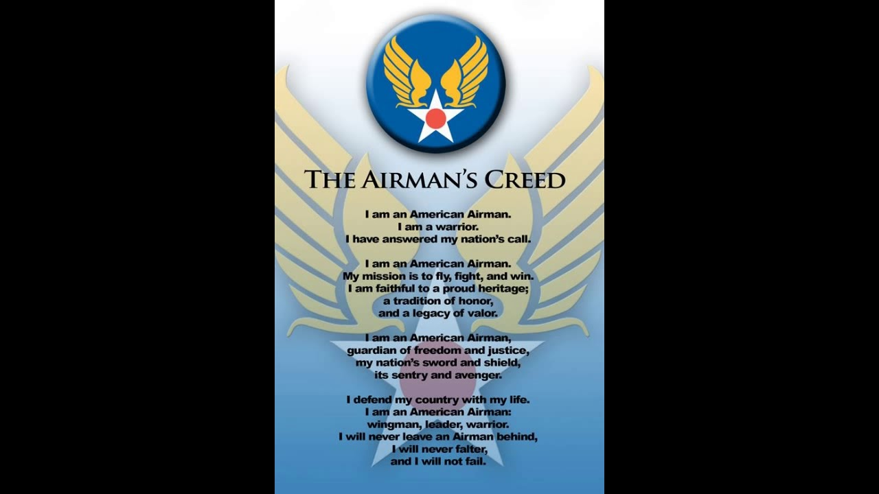 The airmans creed youtube the airmans creed thecheapjerseys Images