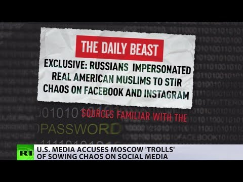 Moscow trolls are back? US media accuses Russian 'internet folks' of sowing 'political chaos in US'