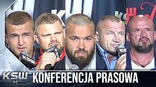 KSW 44: Cała konferencja prasowa z udziałem Stracha, Pudziana i Materli thumbnail