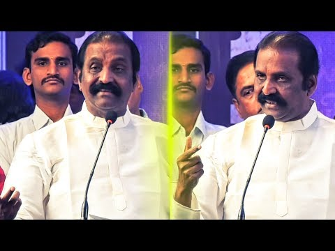 Vairamuthu First Speech after Andal Issue: Gets Emotional On Tamil