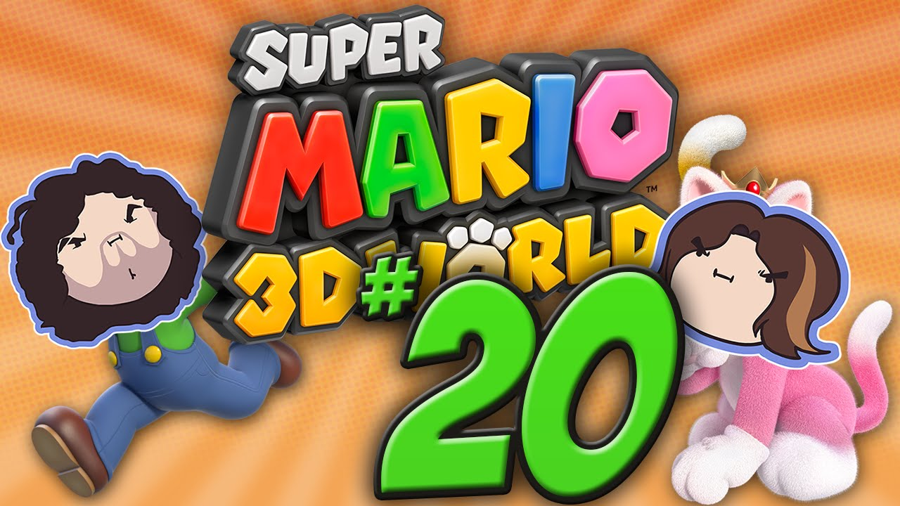 Super Mario 3D World: Sasquatch Stories – PART 20 – Game Grumps