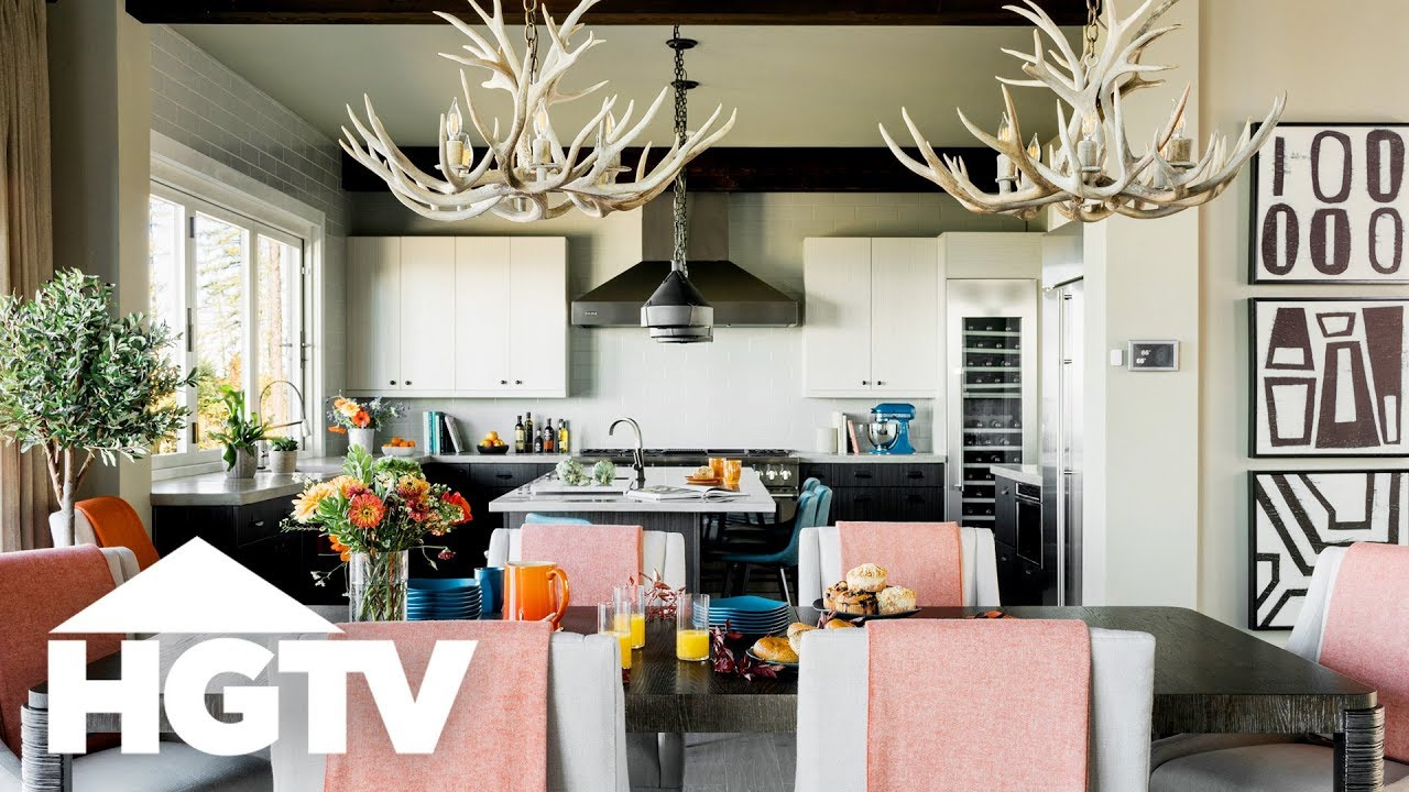 Lodge-Style Living at HGTV Dream Home 2019 - YouTube on Dream Home Interior  id=37273
