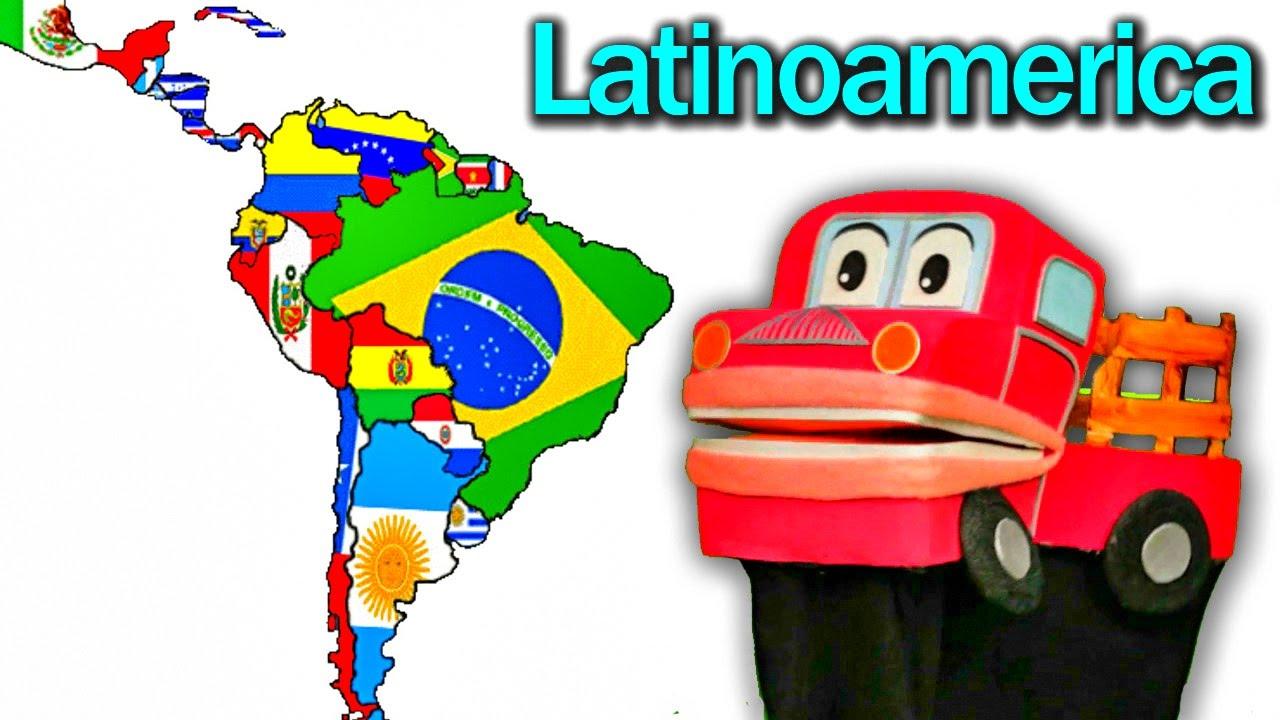 Latinoamérica - Geografía para Niños en Español - Barney El Camión