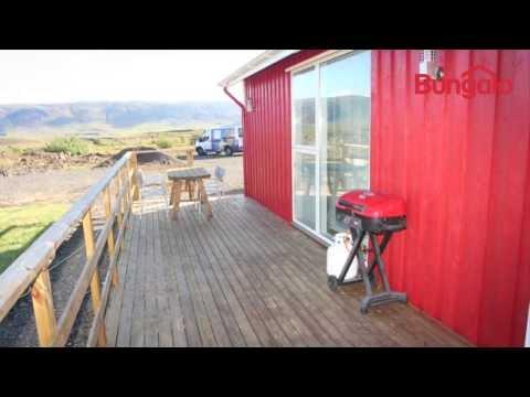 Solvellir summerhouse, West Iceland.