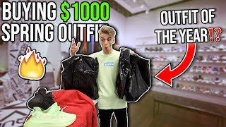 Buying the CRAZIEST OUTFIT Of 2019?! $1000 Shopping Spree!