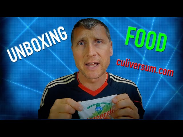 Unboxing food, Part 1