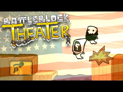 BATTLEBLOCK THEATER FUNNY MOMENTS | War is Hell (Gameplay Montage)