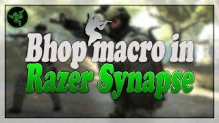 How To Make Bhop Macro Razer Synapse