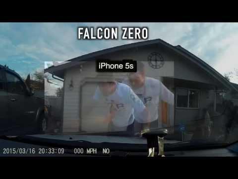 ★★★★★ Falcon Zero F170 32GB 1080p Full-HD Wide Angle Car DVR Dashcam