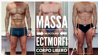 Mettere su Massa Muscolare per gli Ectomorfi a Corpo Libero