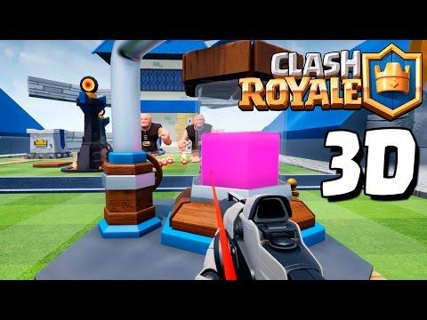 SE PUEDE JUGAR CLASH ROYALE en 3D!?